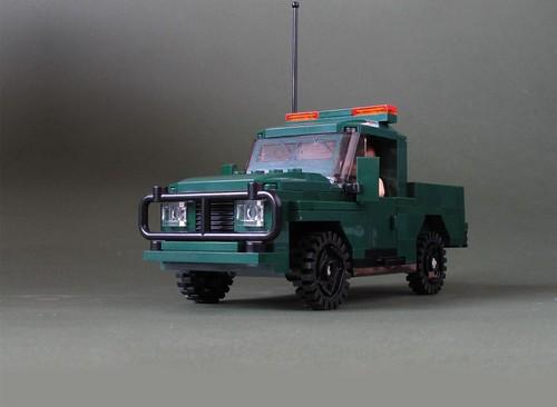 Green Army 4x4: 2