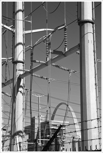 Arch And Power Lines 2012-02-25 2