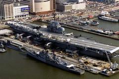 USS Intrepid flightdeck view