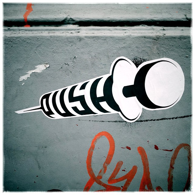 Street Art Push Hamburg