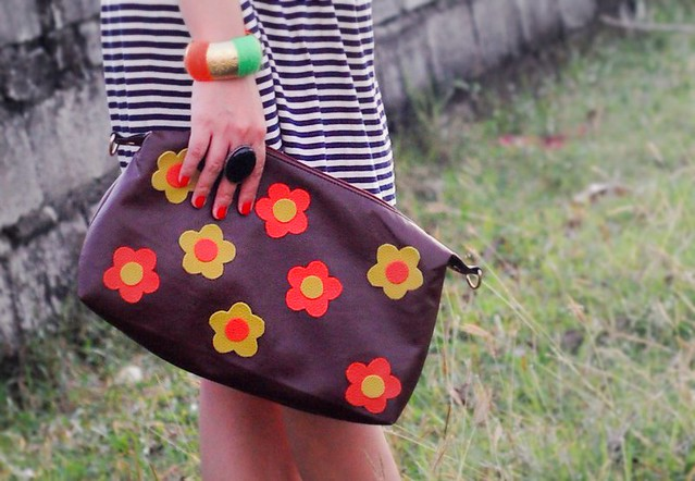 DIY Flower Patch Pouch