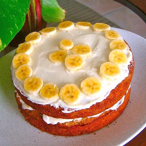 Jamaican Ripe Banana Cake