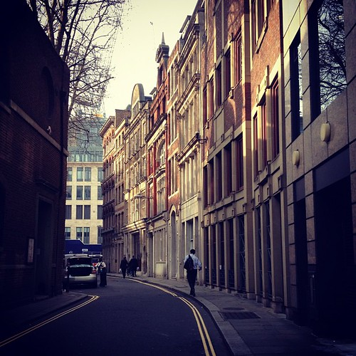 London street by Jeanne @ Collage of Life