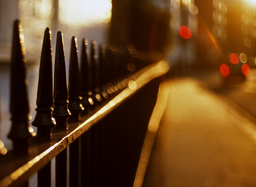 South Kensington bokeh by Stephen Dowling