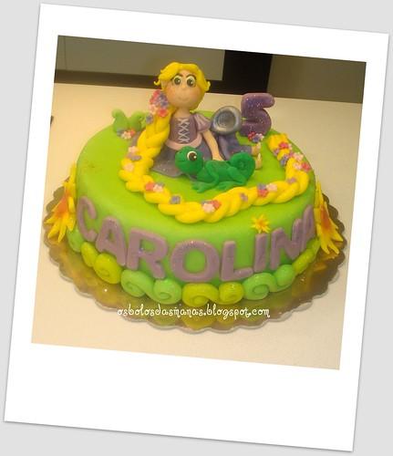 Bolo Rapunzel entrelaçados 10 by Osbolosdasmanas