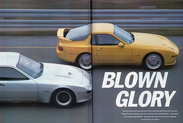 Porsche 968 Turbo S & 1979 Porsche 925 Carrera GT Twin Road Test 1993 ...