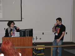 Erin and Noah present a panel on Anthropomorphization
