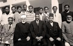 في جامعة كراتشي - قسم التاريخ الاسلامي  - كراتشي- الباكستان - 16 كانون الثاني 1958
