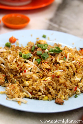 Belachan Fried Rice, Yut Kee Restaurant