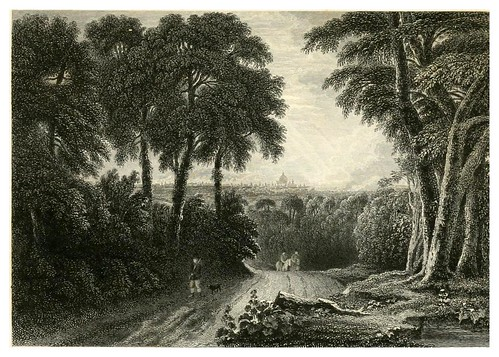 001-Londres desde Highgate-Rob Roy-Finden's landscape illustrations of the Waverley novels.. 1834-varios artistas