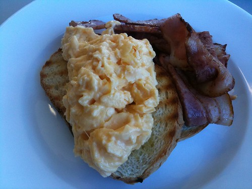 Just Eggs ($6.90) + Bacon ($1.50)