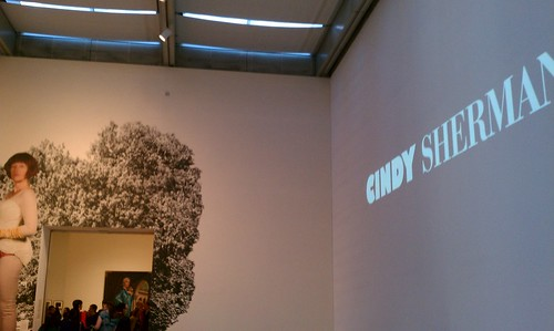 Starting my Monday with Cindy Sherman at the MOMA.