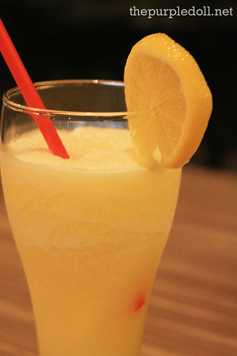 Fresh Squeezed Lemon-Pineapple Slush P120