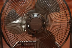 mechanical fan, circle,