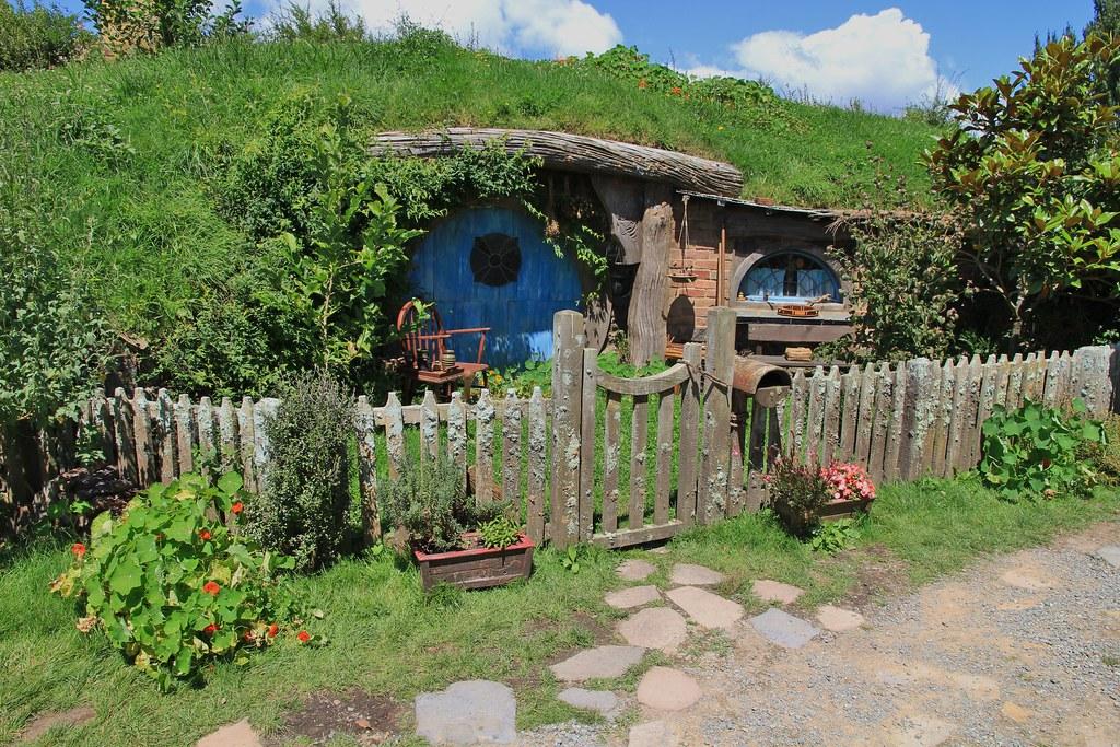Hobbiton el pueblo de los hobbits en matamata nueva zelanda - La casa de los hobbits ...