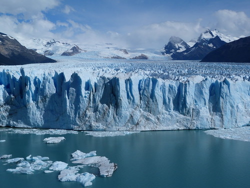 Fotografía del Glaciar Perito Moreno