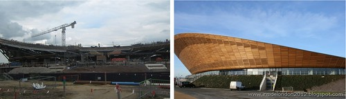 Velodrome - during & after.. by Andy Wilkes