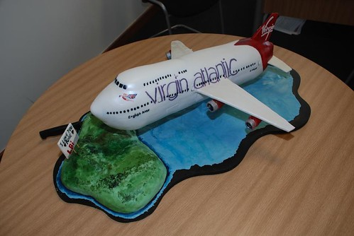 Virgin Atlantic Cake