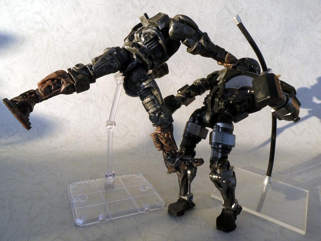 real steel zeus vs atom_21 - a photo on flickriver