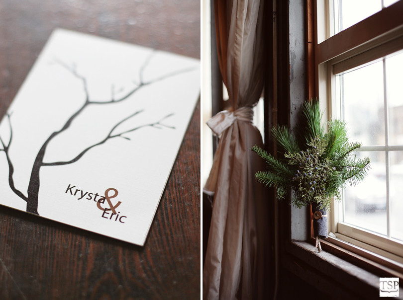 Tree Themed Bouquet and Stationary