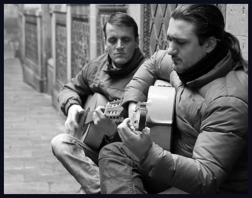 muzikanten by hans van egdom
