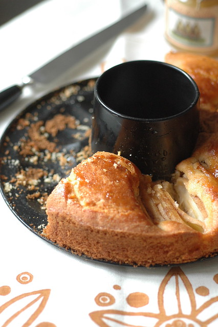 torta di mele cannella e zenzero