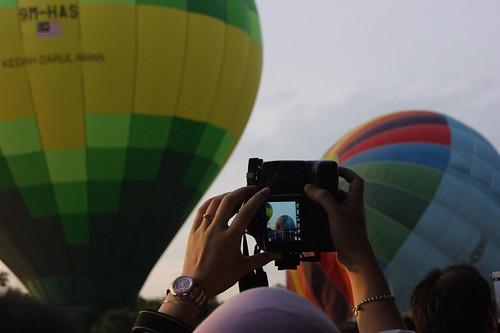 Fiesta Belon Udara Panas Putrajaya 2012