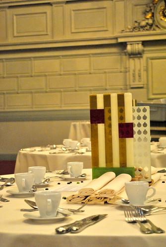 Magyar Bál, Brüsszel 2012 - panyizsuzsi asztaldísz