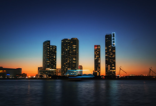 Dramatic Sunset of MIAMI 1