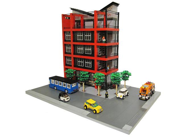 Brick Town Talk Modern Architecture Lego Town Architecture