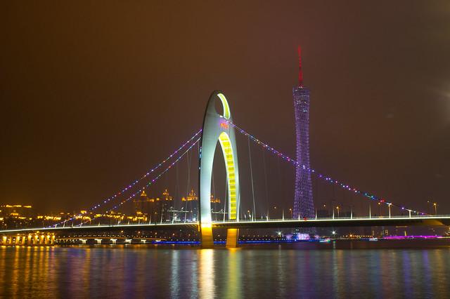猎德大桥&广州塔