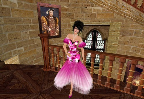 Bliss Couture Kimberly Gown (Pink), 10 lindens by Cherokeeh Asteria