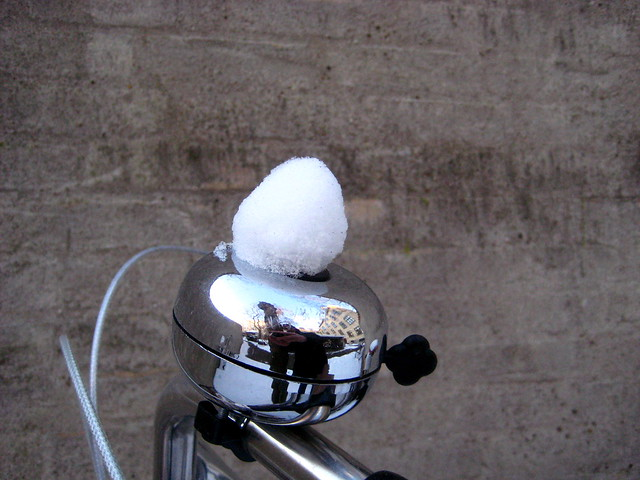 Snowfall Bicycle Bell