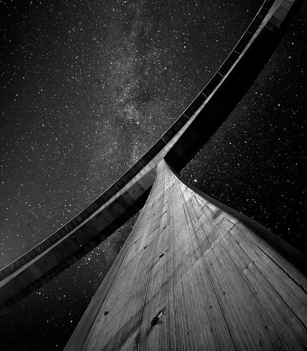USSC Discovery One - Una odisea en el espacio (versión B/N) by José Miguel - www.josemiguelmartinez.es