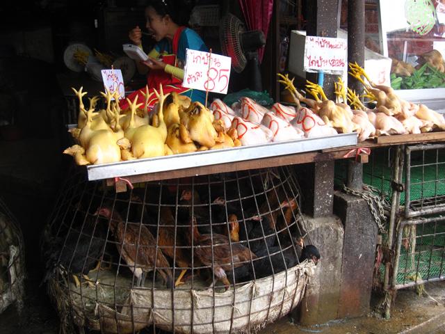 Khlong Toey Market, Bangkok, Thailand