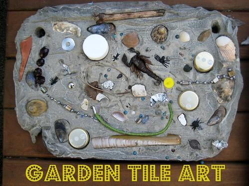 garden tile art