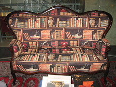 Dave Hirt library settee