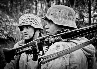Bastogne 2008 - German re-enactors