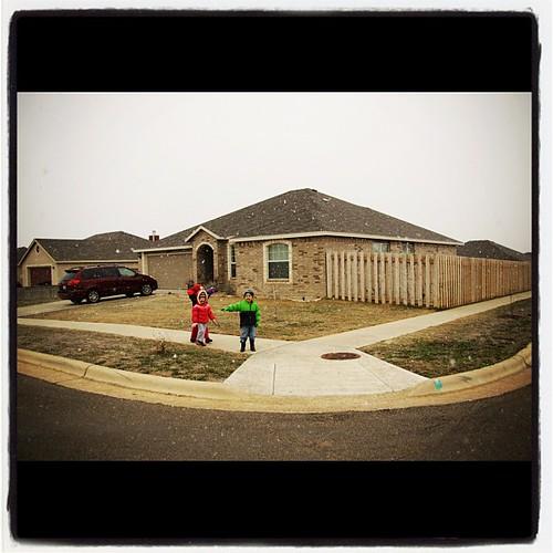 Our house. Through the seasons.