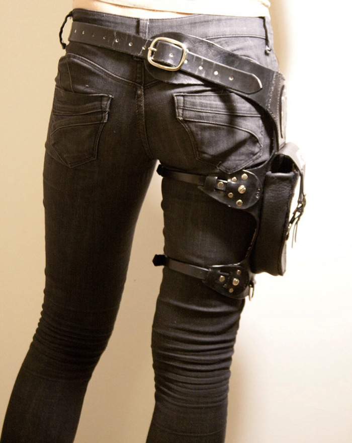 Leather Leg Holster