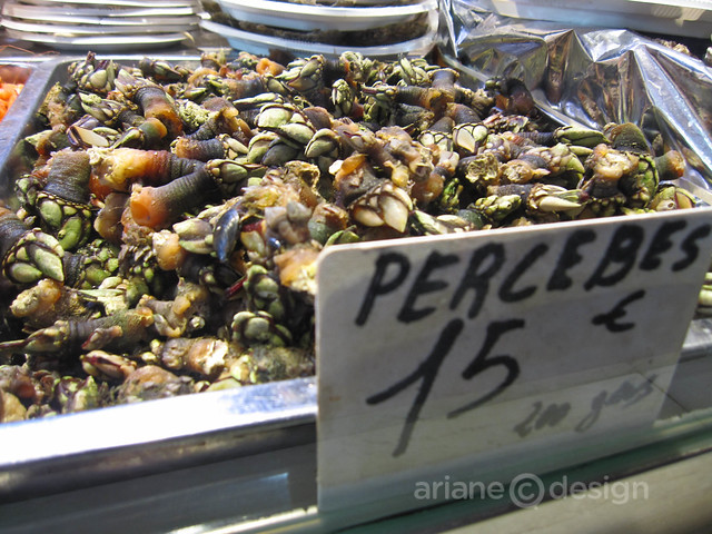 Madrid/food/Percebes