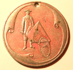 Colonial Jack token Type 1