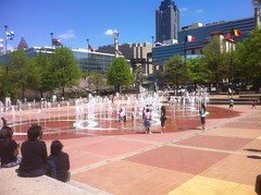 Centennial Fountains