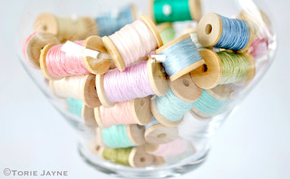 Organizing my embroidery threads
