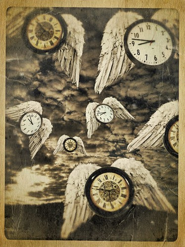 247/365- Time flies by elineart
