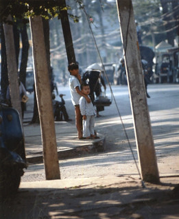 Vietnamese street scene