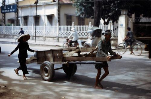 Vietnamese handcart