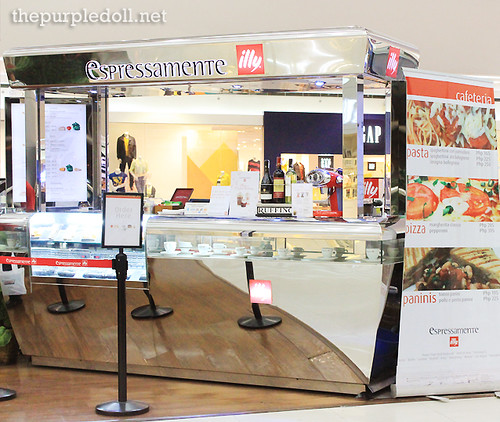 Espressamente Illy Counter