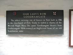 Photo of Bronze plaque number 9097