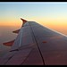 Watercolor skies over Burma-Bangkok-Yangon flight